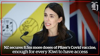 NZ Government secures 8.5 million more doses of Pfizer's Covid vaccine