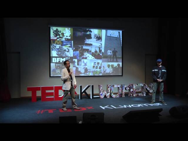 Peperangan Bintang Wayang Kulit: Tintoy Chuo & Take Huat at TEDxKLwomen 2013 Travel Video