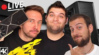 ASSEMBLIAMO PC CON RTX 3080 IN LIVE W/ BLINK46