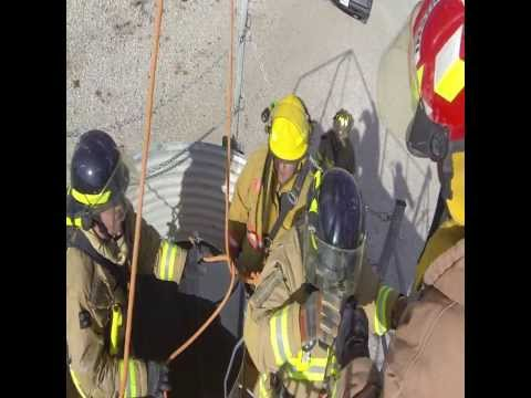 Grain Bin Entrapment Rescue Training