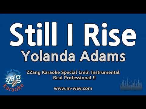 Yolanda Adams-Still I Rise (1 Minute Instrumental) [ZZang KARAOKE]
