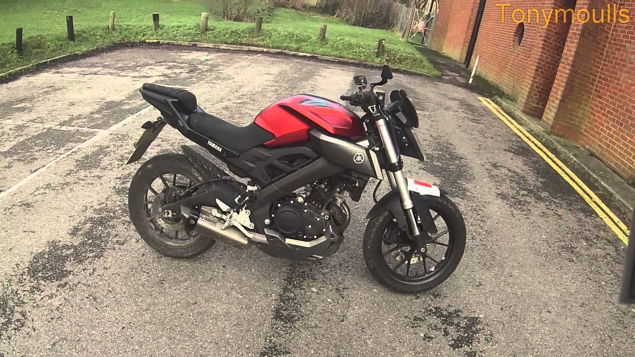 yamaha mt125 review part 3 overall look faults with. Black Bedroom Furniture Sets. Home Design Ideas