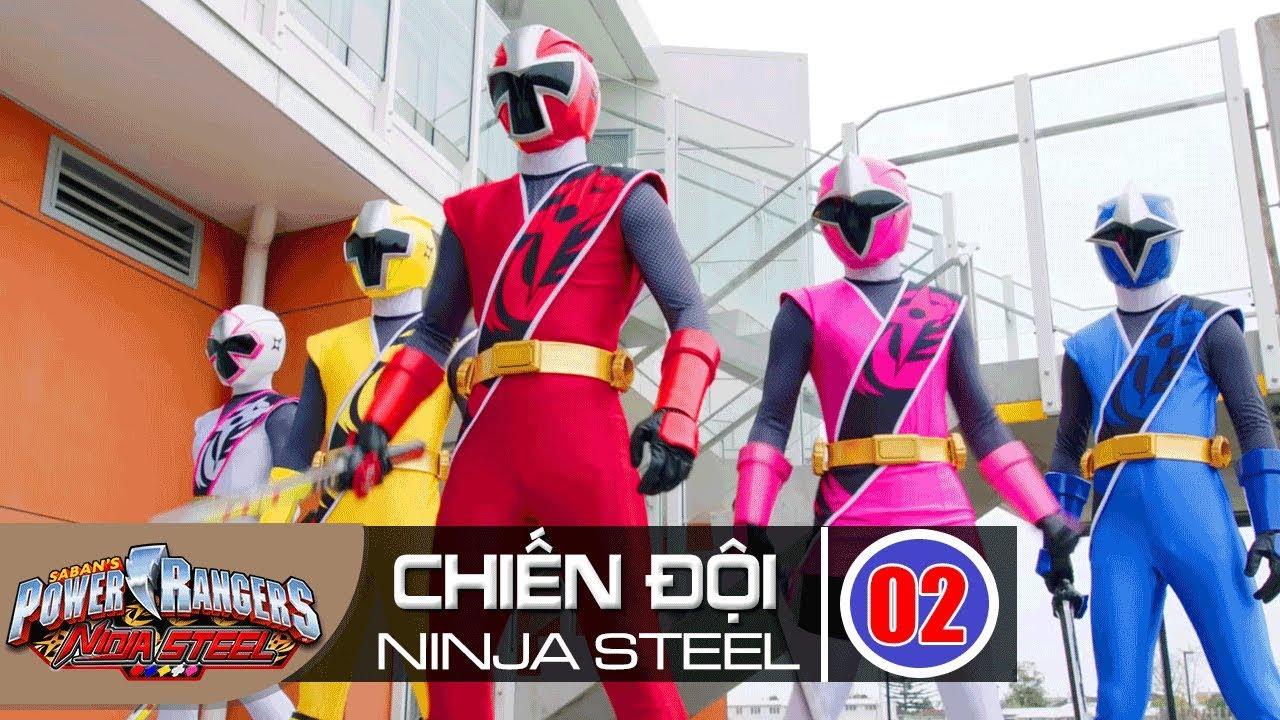 Siêu Nhân Chiến Đội Ninja Steel Tập 2 : Sức Mạnh Nhẫn Giả