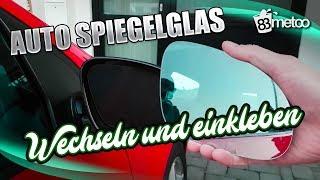 VW Golf 5 GTI Autospiegelglas wechseln und kleben | Hosch Industrieklebstoff Sekundenkleber