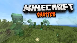 Minecraft: SHATTER MOBS (EPIC MOB DEATH ANIMATION EFFECTS!) Shatter Mod 1.7.10