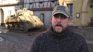 Fury: Director/Writer David Ayer Behind The Scenes Movie Interview