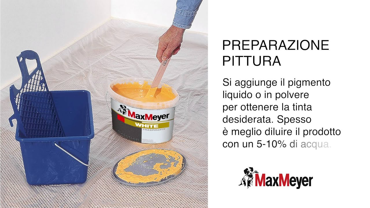 Pittura a rullo MaxMeyer - YouTube