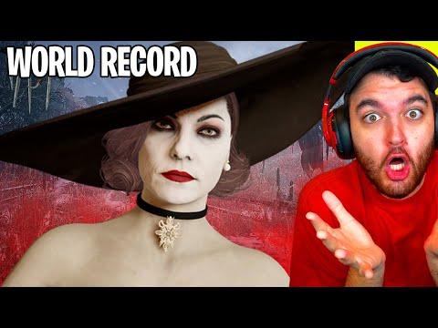 RESIDENT EVIL 8 VILLAGE - NEW WORLD RECORD SPEEDRUN... WHAT?