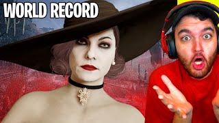 RESIDENT EVIL 8 VILLAGE - NEW WORLD RECORD SPEEDRUN... WHAT?!