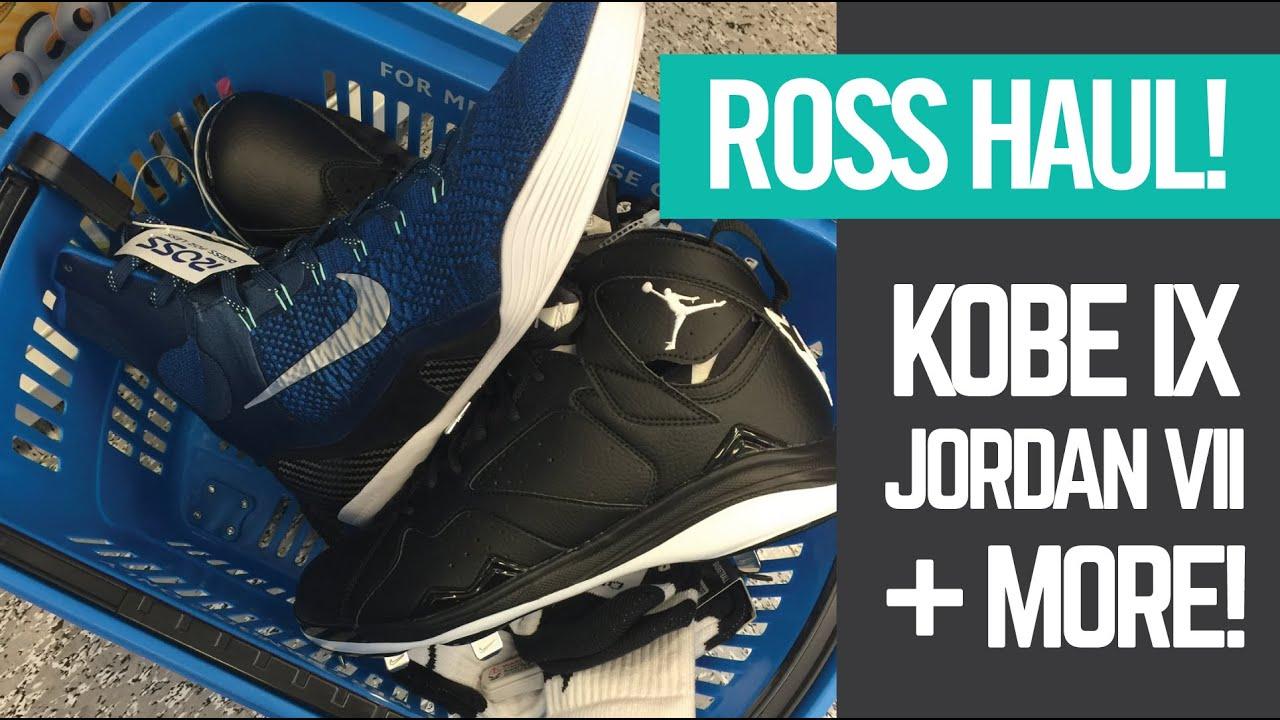 Ross Grand Opening Haul - Kobe IX + Jordan VII + GO PRO ACTION! - YouTube