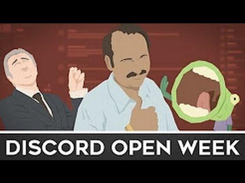 Discord Open Week