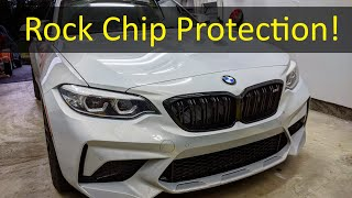 homepage tile video photo for 2021 M2 Competition Carbon Fiber Mud Guard Install! (Already have rock chips!!!)