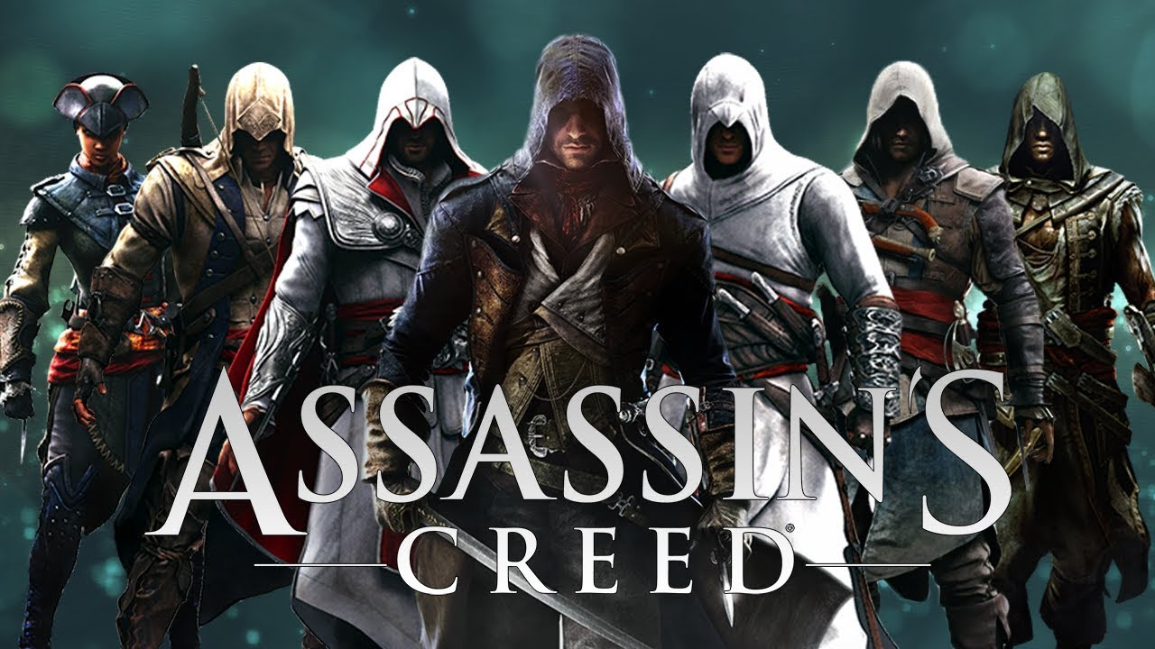 Assassin S Creed All Protagonists Youtube