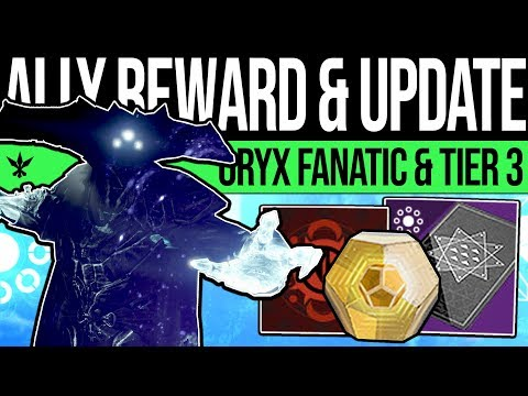 Destiny 2 | NEW WEEKLY REWARDS & ORYX FANATIC! DLC Update, Gambit Changes, Tier 3 News & Season 7! thumbnail