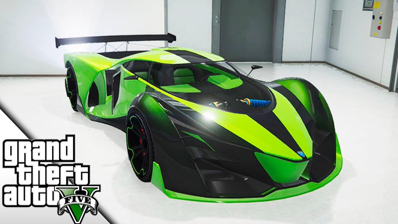 Gta 5 Cool Cars >> NUEVO HYPER COCHE EN GTA! | X80 PROTO | BraxXter - YouTube