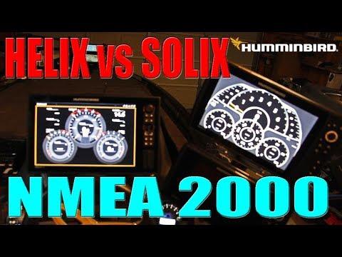 tips 'n tricks 211: humminbird helix vs solix: part 6 - nmea 2000  differences