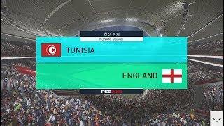 러시아 월드컵 튀니지 vs 잉글랜드 매치 게임 경기 예측 하이라이트 영상