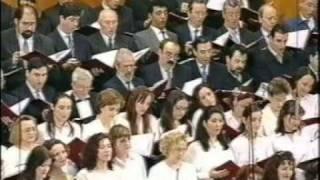 Coro de románticos.  Doña Francisquita.  Amadeo Vives. Dir.: Miguel Roa