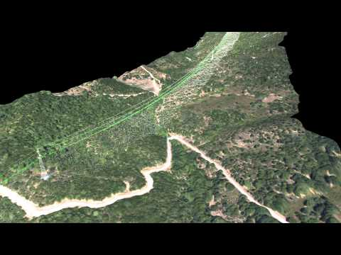 UAV Power Line Inspection: photogrammetry + LiDAR