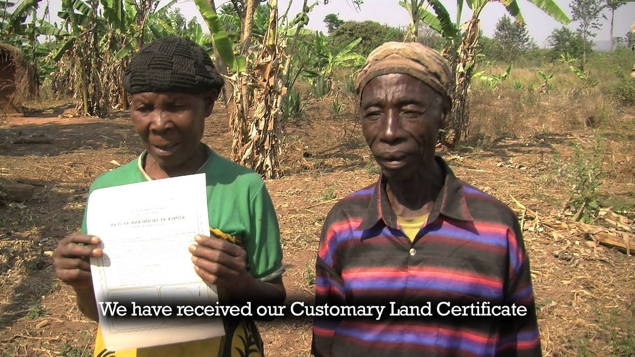 Gift of Hope - Land Certificate