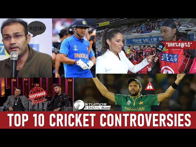 10 Cricket Controversies Of This Decade | Match Fixing | Doping | Worst Fights || Stumpsandbails