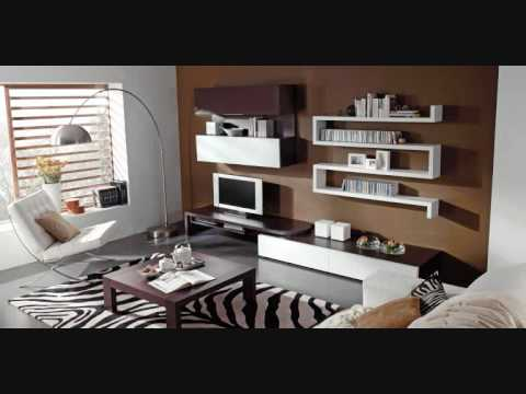Muebles salvany salones modernos 2 youtube for Muebles salon clasico moderno