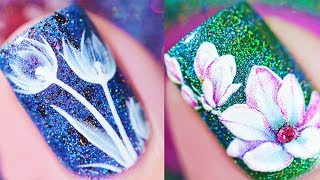 ✨flowers on my nails 💅 | Best Makeup Tutorials 2019 | Makeupholic
