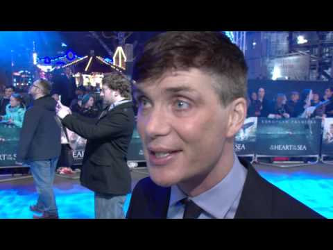 Cillian Murphy Interview - In The Heart Of The Sea European Premiere