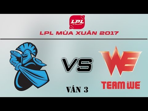 [14.04.2017] NB vs WE [LPL Xuân 2017][Ván 3]