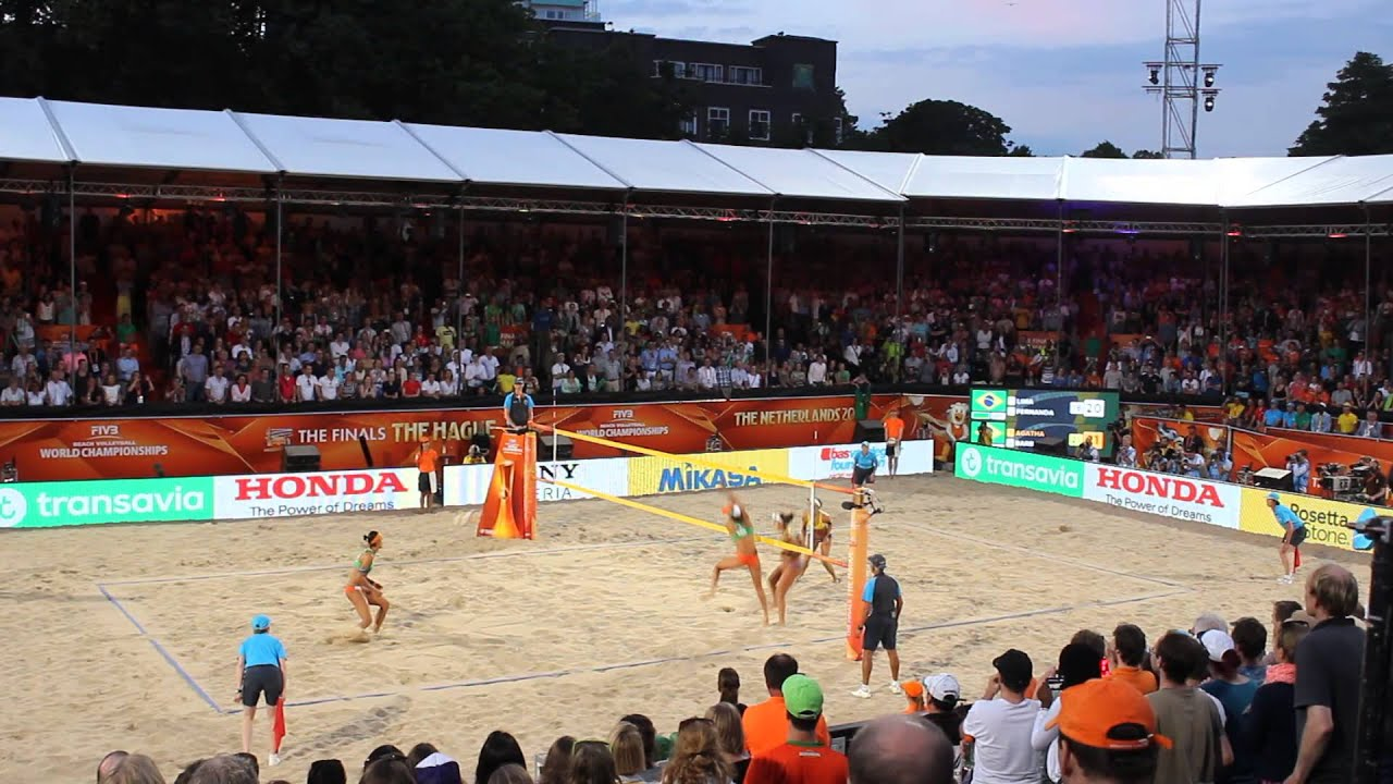 FIVB Beach Volleyball World Championships The Netherlands ...