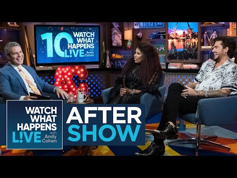 Katie Sommers - Adam Lambert Talks Hanging With Lady Gaga At Madonna's Party on WWHL