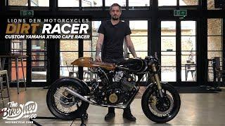 'Dirt Racer' custom Yamaha XT600 café racer by Lions Den Motorcycles