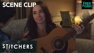 Stitchers | Season 3, Episode 3: Amanda And Camille Play Guitar | Freeform