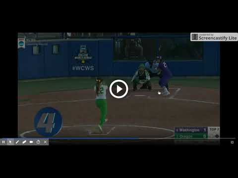Top 10 Plays of the 2017 Women's College World Series