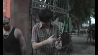 Gitarrenübergabe an Rod