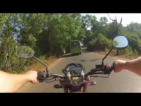 Riding in Goa: Panaji-Ponda-Mollem-Collem