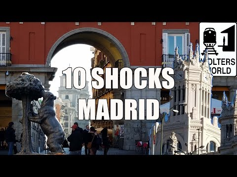 Visit Madrid - 10 Things That Will SHOCK You About Madrid, Spain