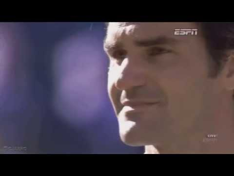 Roger Federer Crying in Wimbledon Final 2014