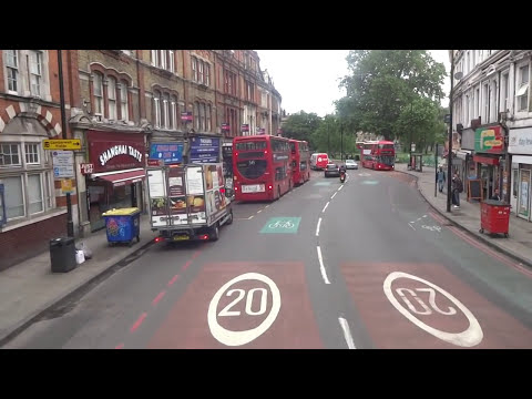 London Bus Route 36 (Route Visual)