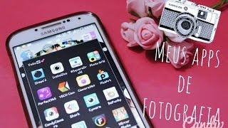 Meus aplicativos de fotografia