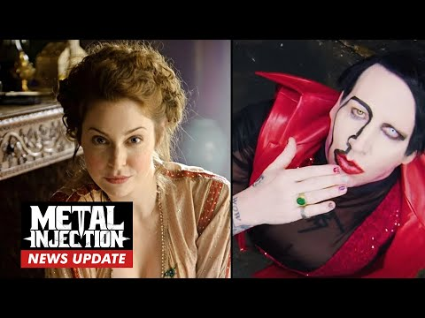 MARILYN MANSON Sued For Sexual Assault Game Of Thrones Actress | Breaking News | Metal Injection