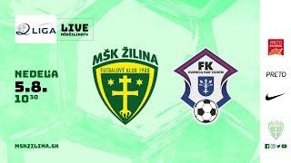 Záznam: MŠK Žilina B - FK Dubnica nad Váhom 3:1 (0:1)
