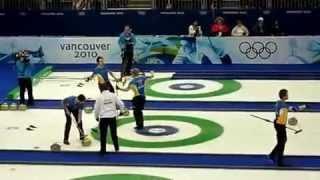 Quadruple Takeout in Olympics - Niklas Edin