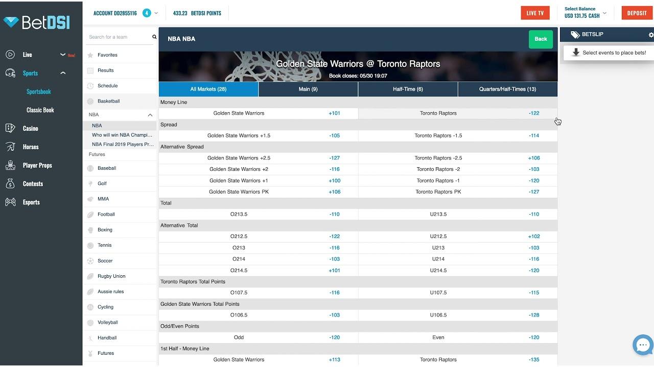 Betdsi sportsbook betting guide planet win 365 betting