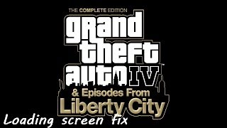 GTA 4's infinite loading screen windows 8/10 quick fix