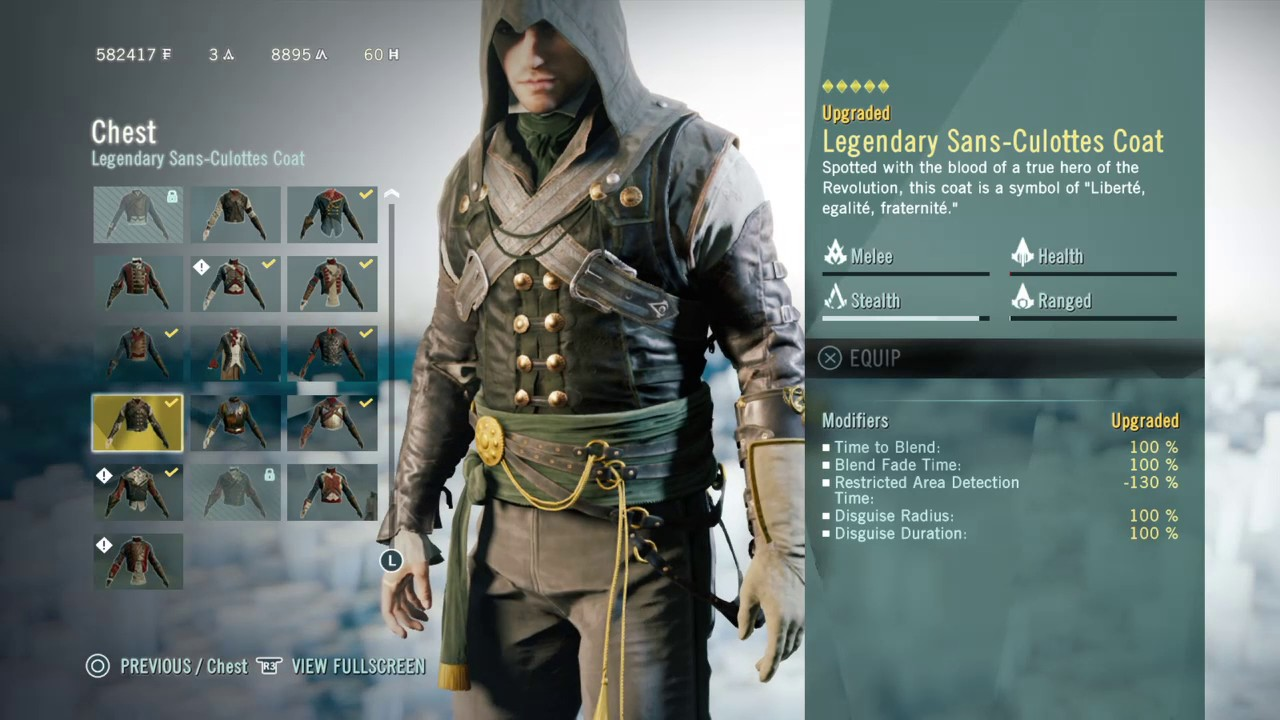 Assassin S Creed Unity Stealth Outfit The Ninja Youtube