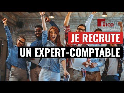 Je recrute un Expert-Comptable à Paris - Cabinet FICO - Grégory PROUVOST
