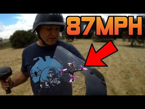 THIS TINY DRONE DOES 87MPH!! WHAT???