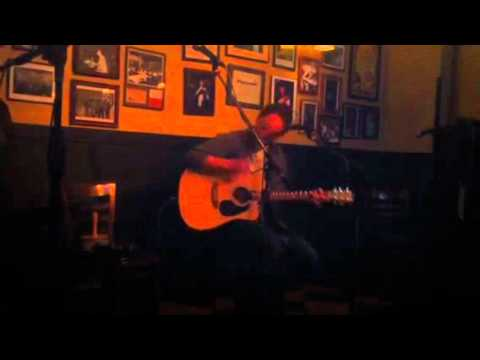 Isaac Lyons at FitzGerald's open mic 2/22/11