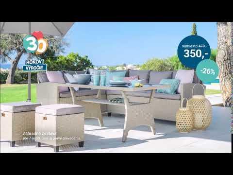 2dd8e3039 Möbelix SK - Výhodný záhradný nábytok - YouTube